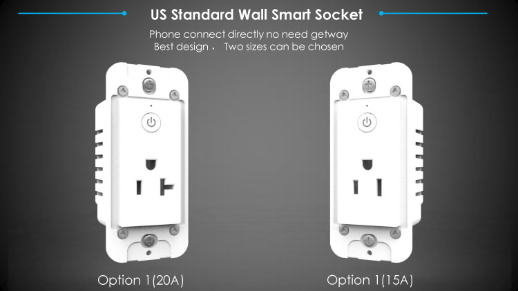 Smart Home Wifi Wall Outlet - Smart Energy Technologies