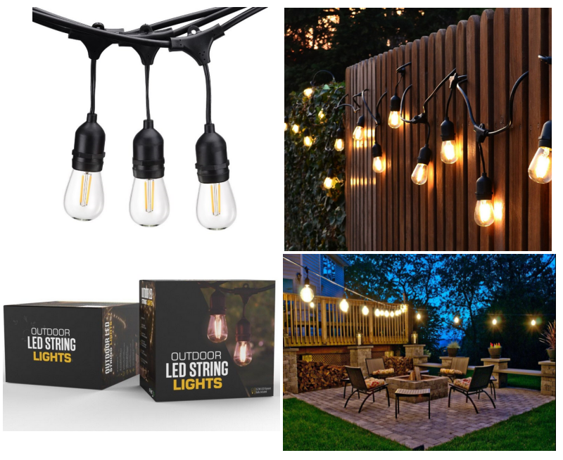 Led String Lights For Patio Outdoor led string lights outdoor patio lights decorative led lights outdoor led string light workwithnaturefo